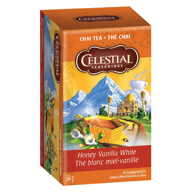 Chai tea with honey