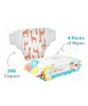 The Honest Company Honest Size 1 Diapers & Wipes Bundle