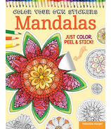 Fox Chapel Color Your Own Stickers Mandalas