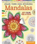 Fox Chapel Color Your Own Stickers Mandalas
