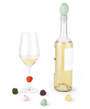 Umbra Gem Wine Charms & Stopper Set