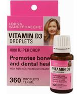 Lorna Vanderhaeghe Vitamin D3 Droplets