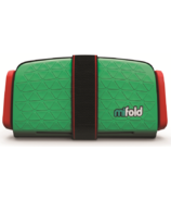 mifold Grab-and-Go Booster Seat Lime Green
