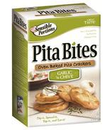 Sensible Portions Oven Baked Pita Bites Garlic 'N Chives