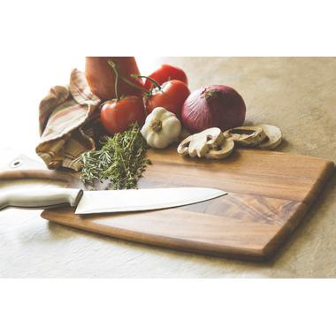 Ironwood Gourmet Large Rectangle Acacia Wood Paddle Board