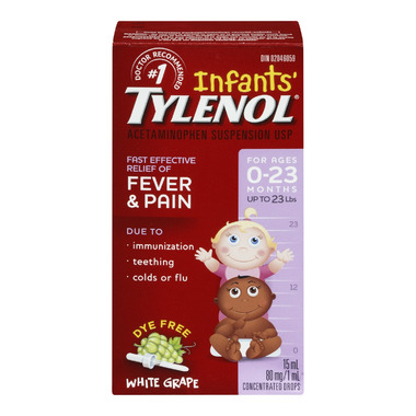 Infants\' Tylenol Fever & Pain Suspension Drops