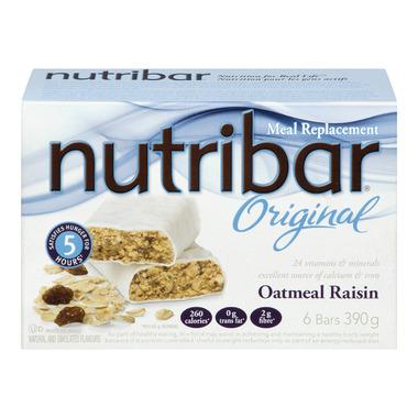 Nutribar Original Oatmeal Raisin Bars