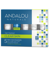 ANDALOU naturals Clear Skin Get Started Skin Care Kit