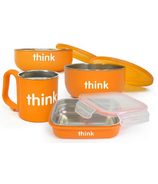 Thinkbaby Complete BPA Free Feeding Set in Orange