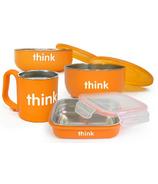 Thinkbaby Complete BPA Free Feeding Set in Orange