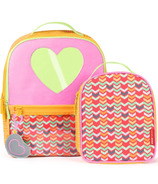 Skip Hop Forget Me Not Backpack & Lunch Bag Set Heart