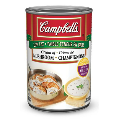 Buy Campbell's Low Fat Cream Of Mushroom Soup from Canada ...