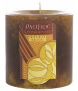 Pacifica Pillar Candle Sandalwood