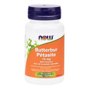 Now Butterbur with Feverfew 60 Veg Capsules - amazon.com