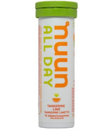 Nuun All Day Vitamin Enhanced Hydration Tabs Tangerine Lime