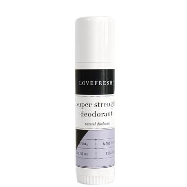 LOVEFRESH Super Strength Natural Cream Deodorant Travel Stick