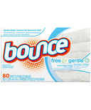Bounce Free and Gentle Dryer Sheets