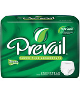 Prevail Super Plus Absorbency Underwear White