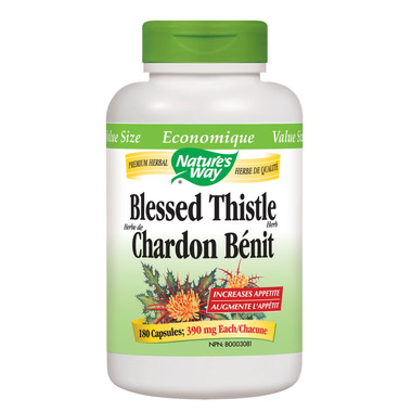 Nature\'s Way Organic Blessed Thistle Value Size