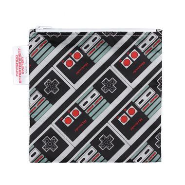 Bumkins Nintendo Reusable Snack Bag Large NES Controller