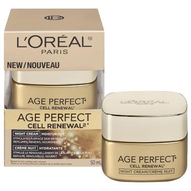 L\'Oreal Age Perfect Cell Renewal Night Cream Moisturizer