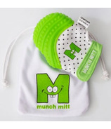 Munch Mitt Teething Mitten Green