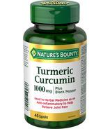 Nature's Bounty Turmeric Plus Black Pepper