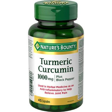 Nature\'s Bounty Turmeric Plus Black Pepper