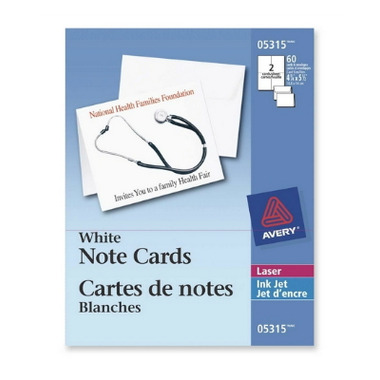 Buy avery note cards with envelopes at wellca free shipping 35 in canada for Avery note cards