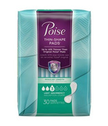 Poise Thin-Shape Light Absorbency Incontinence Pads