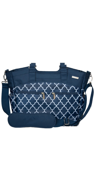 buy jj cole camber diaper bag navy arbor at free shipping 35 in canada. Black Bedroom Furniture Sets. Home Design Ideas