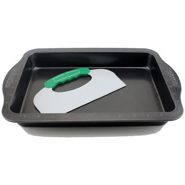 BergHOFF Perfect Slice 9x13 Inch Cake Pan with Tool