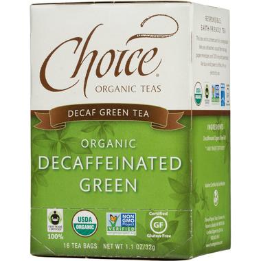 Choice Organic Teas Decaffeinated Green Tea