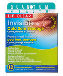 Quantum Health Lip Clear Invisible Cold Sore Bandage