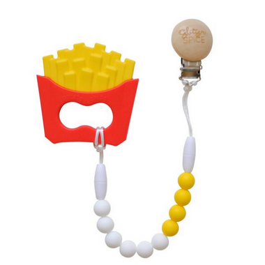 Glitter & Spice French Fry Teether