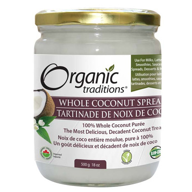 Organic Traditions Coconut Spread