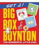 Big Box of Boynton Set 2! (Snuggle Puppy, Belly Button Book & Tickle Time)