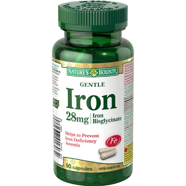 Nature\'s Bounty Gentle Iron