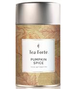 Tea Forte Limited Edition Pumpkin Spice Loose Tea Canister