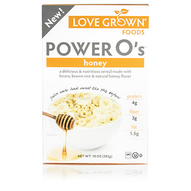 Love Grown Foods Power O\'s Honey