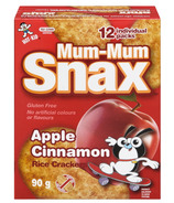 Hot-Kid Mum-Mum Snax Apple Cinnamon Rice Crackers