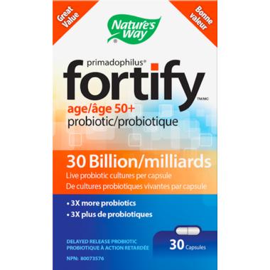 Nature\'s Way Primadophilus Fortify 50 + Probiotics