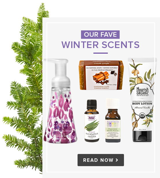 Our Fave Winter Scents