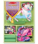 Melissa & Doug My Horse Clover Magnetic Dress Up