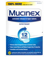 Mucinex Cough & Cold Tablets