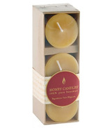 Honey Candles Beeswax 2-inch Votive 3-pack