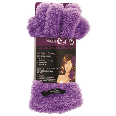 Upper Canada Hair Drying Gloves Purple