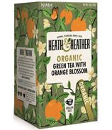 Heath & Heather Organic Green Tea & Orange Blossom