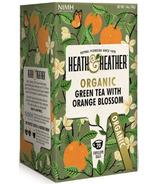 Heath & Heather Organic Green Tea & Orange Blossom