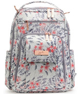 JuJuBe Be Right Back Diaper Bag Sakura Swirl